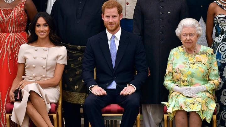 Report: Queen Elizabeth will meet with Prince William, Harry and father Charles Monday
