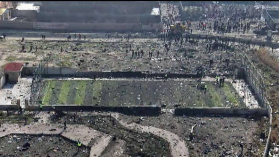 Iranian state TV admits Iran's military 'unintentionally' shot down Ukrainian jetliner