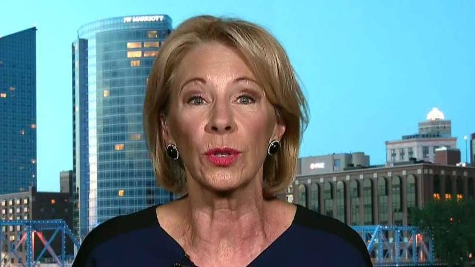 Secretary Betsy DeVos on combating the homeless crisis in schools