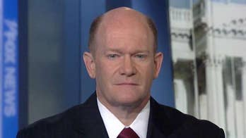 Sen. Chris Coons on impeachment developments, efforts curb Trump's ability to use military action against Iran