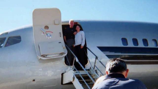 Bill Clinton pictured with alleged Epstein madam, accuser
