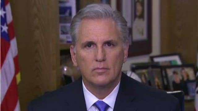 Rep. Kevin McCarthy: War Powers Resolution has no power
