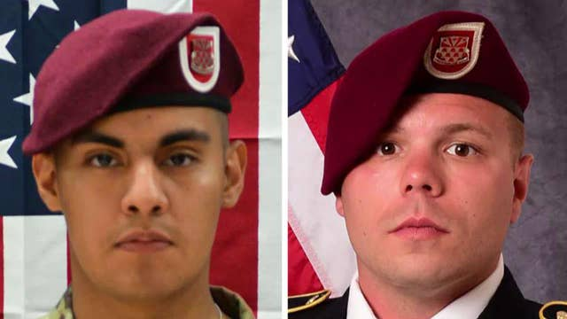 Pentagon identifies the two US soldiers killed by a roadside bomb in Afghanistan