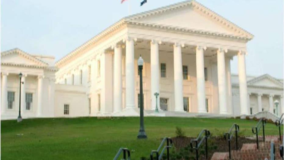 Virginia lawmakers ban guns from state Capitol