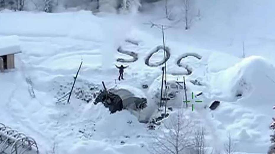 Man survives 23 days in Alaskan wilderness