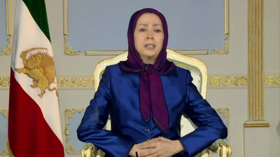 Maryam Rajavi: 'Overthrow this regime'