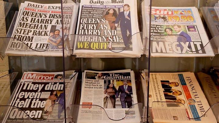 Harry, Meghan Markle flee tabloids