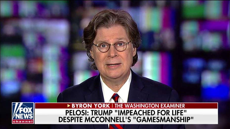 Byron York: Trump and Pelosi are 'trolling each other' on impeachment