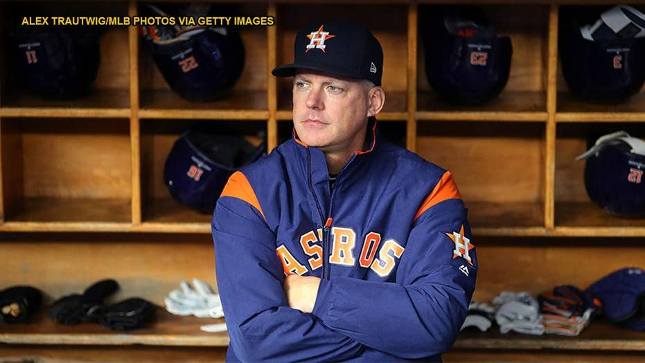 Houston Astros fire manager AJ Hinch and GM Jeff Luhnow after MLB punishes team for cheating during 2017 season