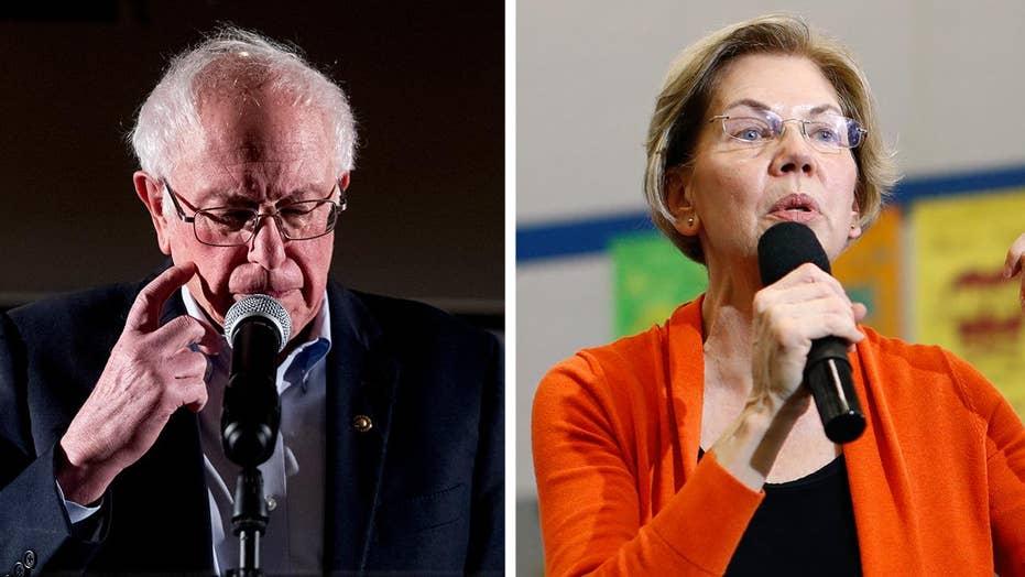 Bernie Sanders, Elizabeth Warren clash ahead of Democratic presidential debate