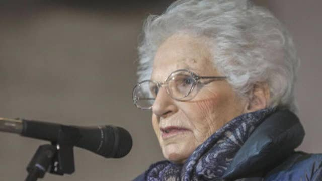 Italian Holocaust survivor receives threats as a rise in anti-Semitic acts are seen across Europe
