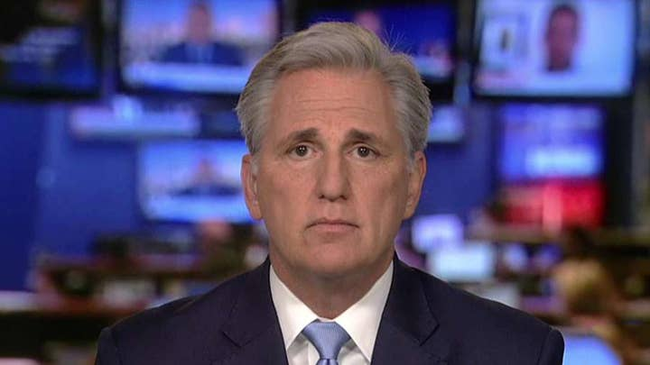 Kevin McCarthy says Joe Biden should pledge not to campaign during Senate impeachment trial