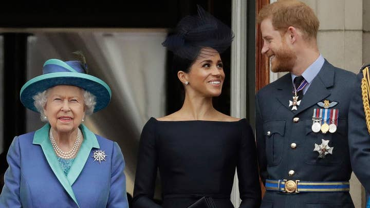 Queen Elizabeth agrees to let Prince Harry and Meghan Markle step back from their royal duties