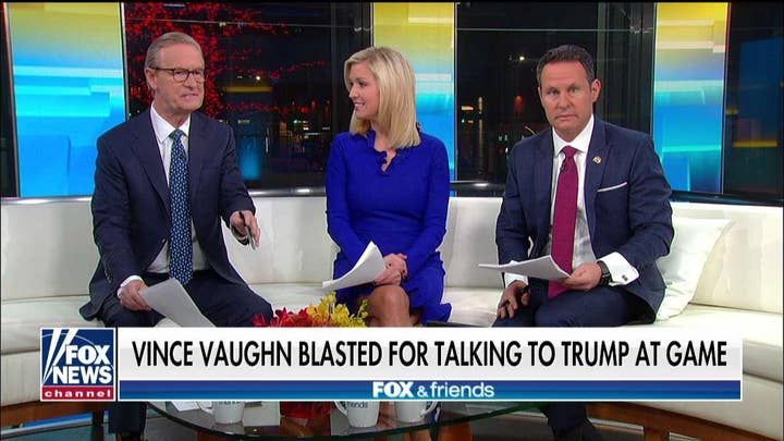 'Friends' on 'unbelievable' outrage at Vince Vaughn for talking to Trump