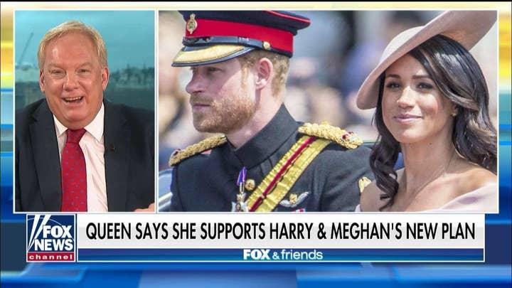 UK Media correspondent on 'Megxit': Harry is too weak-willed