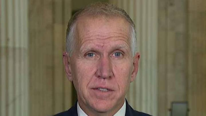 Sen. Thom Tillis says Americans are tired of impeachment, predicts Senate trial will last under 4 weeks