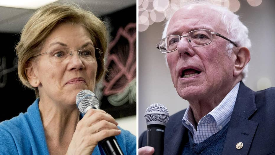 Warren, Sanders at odds as candidates prepare to take the debate stage in Iowa