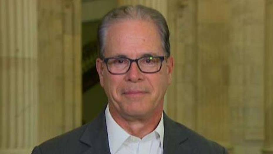 Sen. Mike Braun says a vote to dismiss impeachment would be a 'hollow victory'