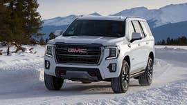 The 2021 GMC Yukon's 'Hurricane Turn' mode spins it in place