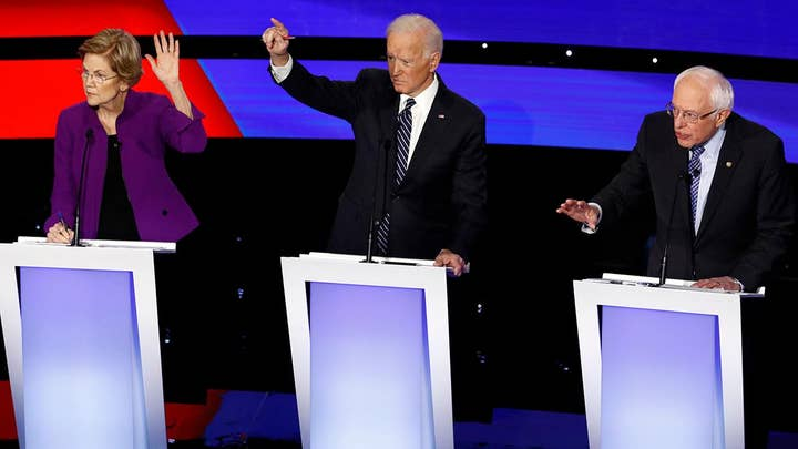 How did Iran factor into the Democrats' last presidential debate before the Iowa caucuses?