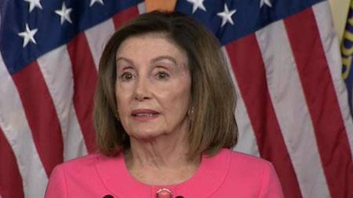 Speaker Pelosi: Trump's impeachment 'will last forever'
