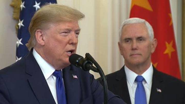 President Trump: I kept my promise on China
