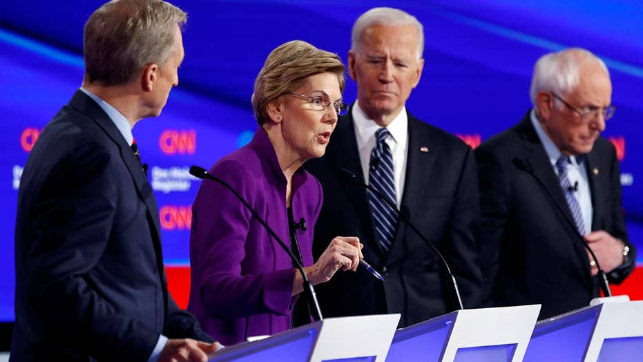 How did foreign policy factor into the seventh Democratic presidential debate?