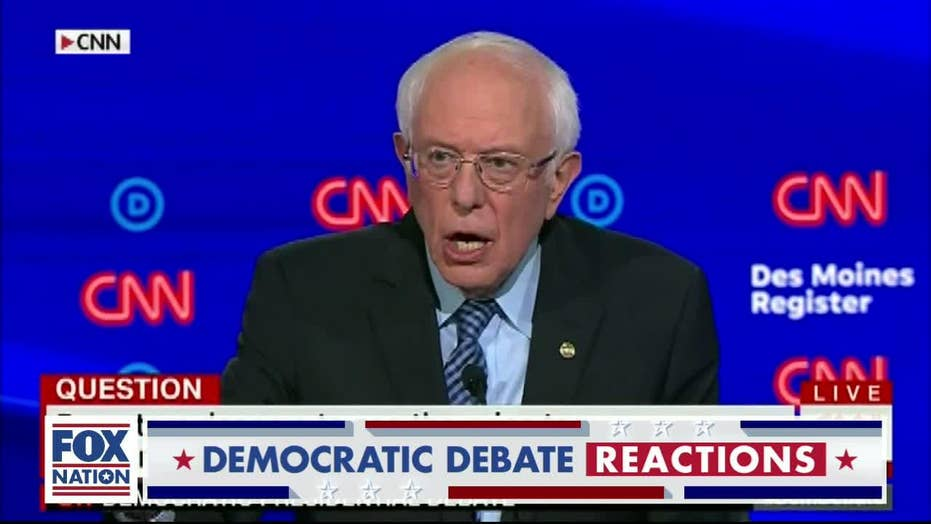 Debate moderator asks Sanders how 'unprecedented' spending wouldn't 'bankrupt the country'