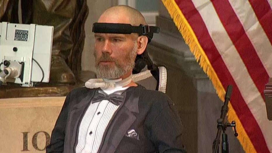 Lawmakers honor Steve Gleason with Congressional Gold Medal