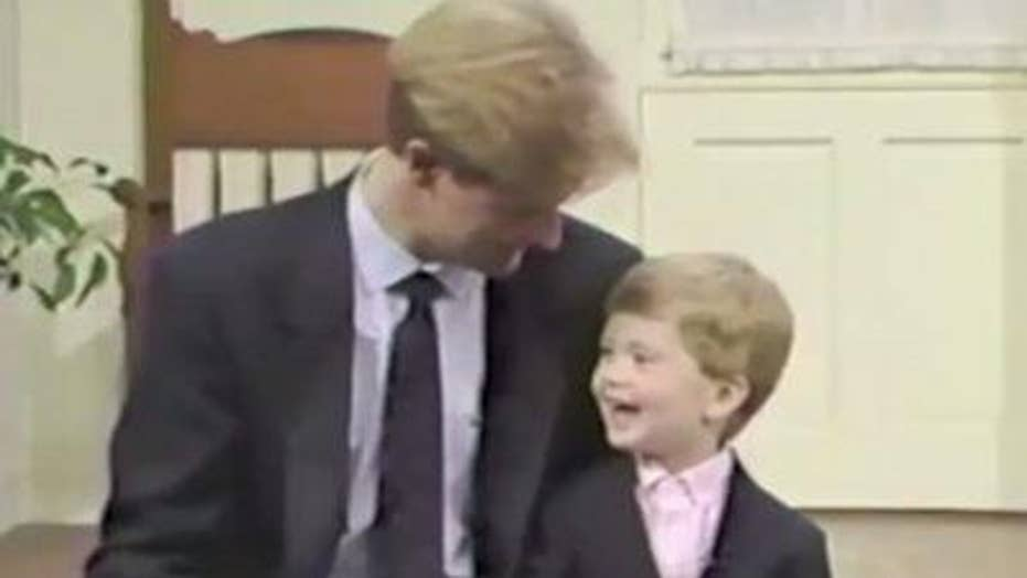 Can you guess the Fox News' father and son duo?