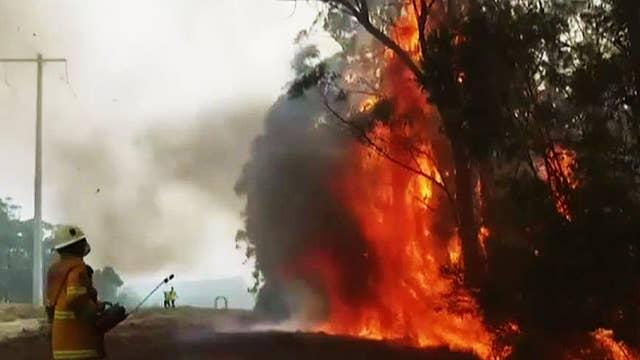 US firefighters returning the favor in Australia