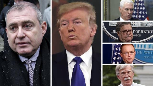 Giuliani associate claims Trump, Pence, Barr, Mulvaney, Bolton were all in loop on Ukraine