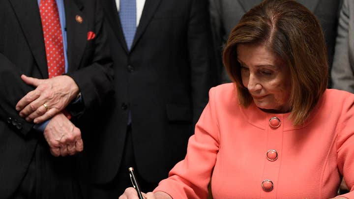 Nancy Pelosi focuses on 'time' during impeachment fight