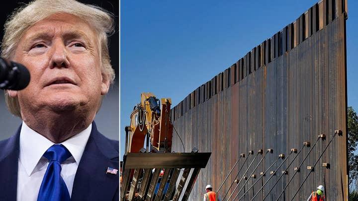 Report: President Trump to shift $7.2 billion to border wall