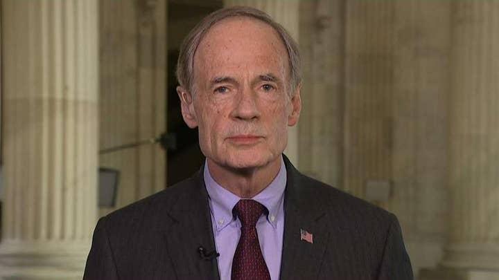 Sen. Tom Carper on calls for witnesses in Senate impeachment trial of President Trump