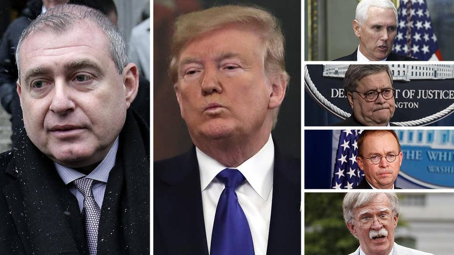 Giuliani associate claims Trump, Pence, Barr, Mulvaney, Bolton were all in loop on Ukraine