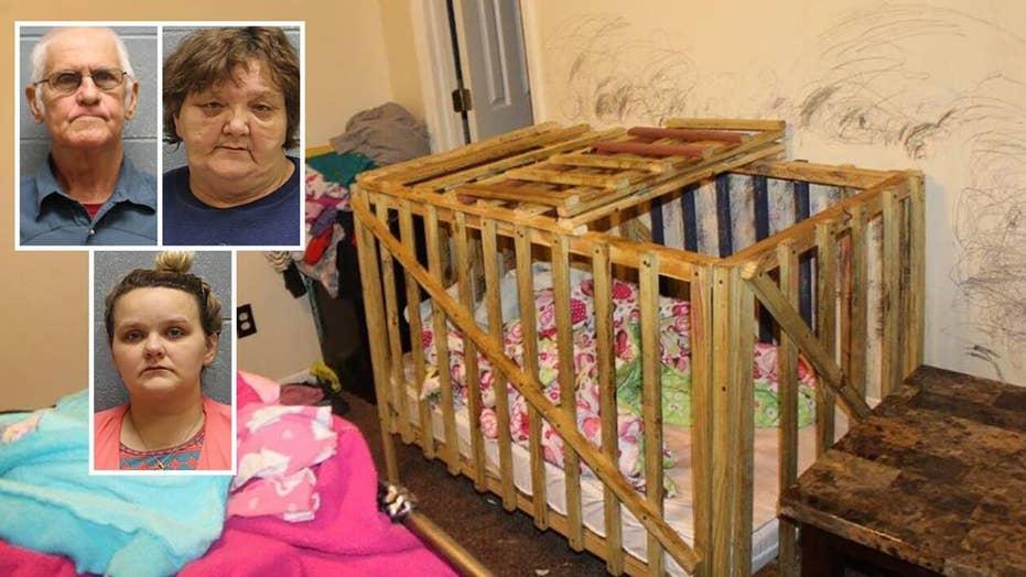 Alabama man named James Bond arrested for child abuse, locking kids in cages