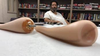 Bronze Star veteran's prosthetic legs taken away during rehab