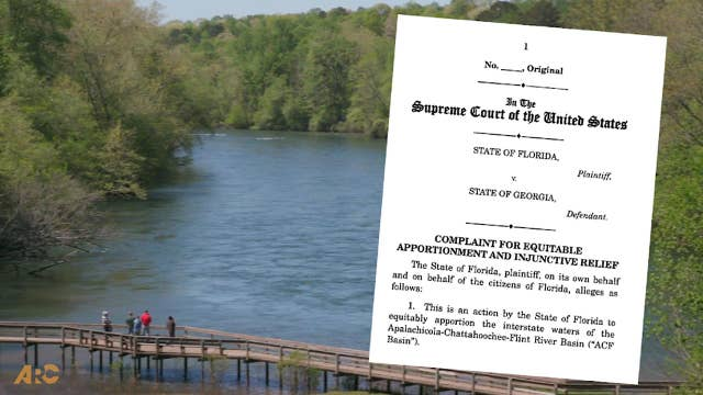 Georgia and Florida water dispute heads to the US Supreme Court