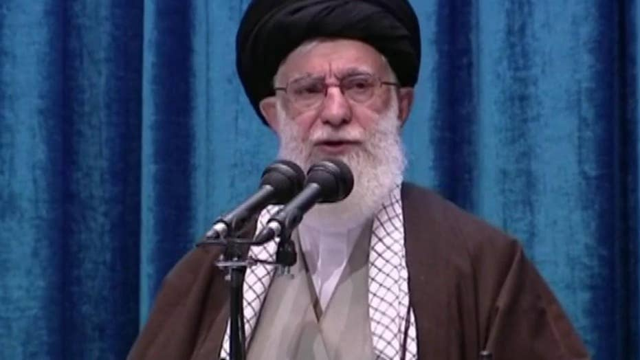 Iran's Ayatollah Khamenei praises missile attack on US troops in Iraq