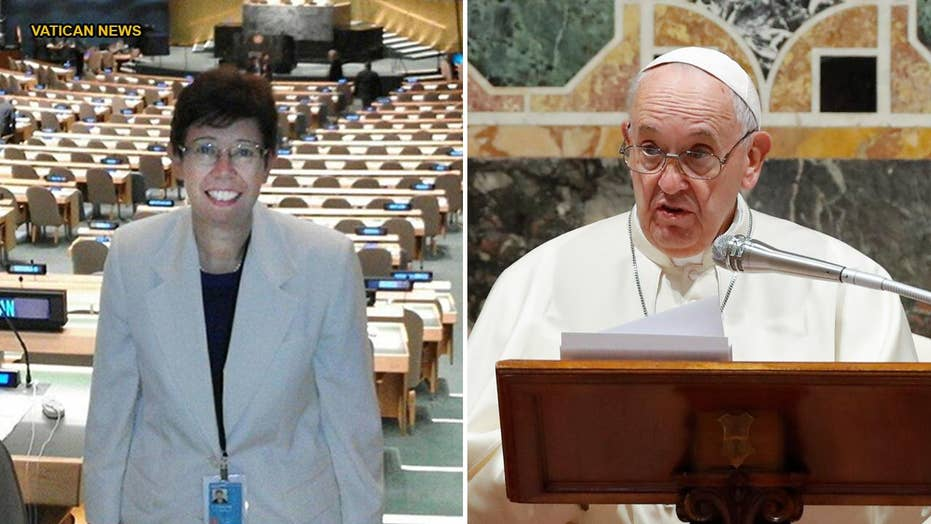 Pope Francis appoints a woman to senior Vatican position for the first time