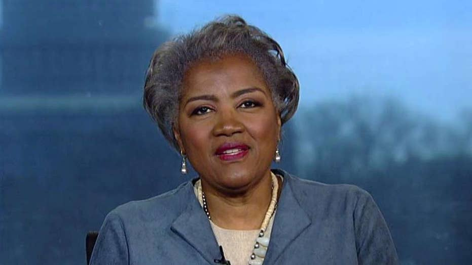 Donna Brazile says both Bernie Sanders and Elizabeth Warren are champions of democracy, hopes spat goes away