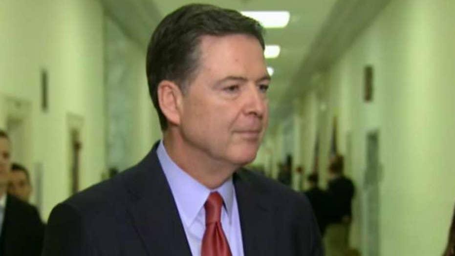 James Comey focus of FBI leak investigation