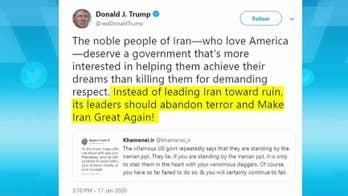 Trump calls out Iran's Ayatollah: 'Abandon terror and Make Iran Great Again'