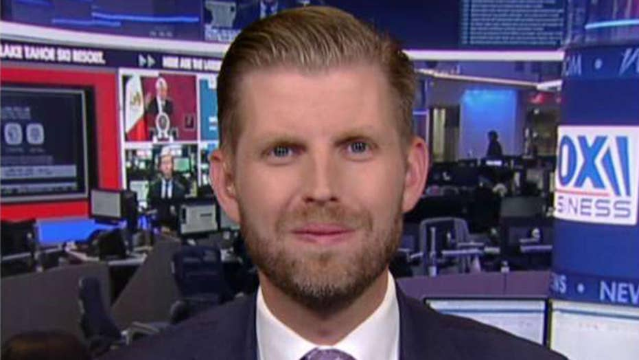 Eric Trump on 2020 Democrats' desperation to take down his father