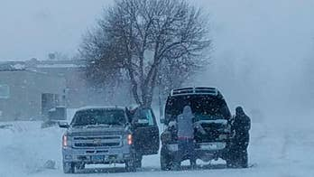 Bitter cold blasts nation as storm moves Northeast