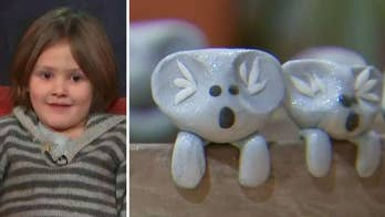 6-year-old boy raises $100K for Australia wildfire relief by making and selling little clay koalas