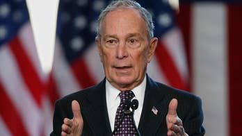Bloomberg's ad spending up to a quarter-billion dollars