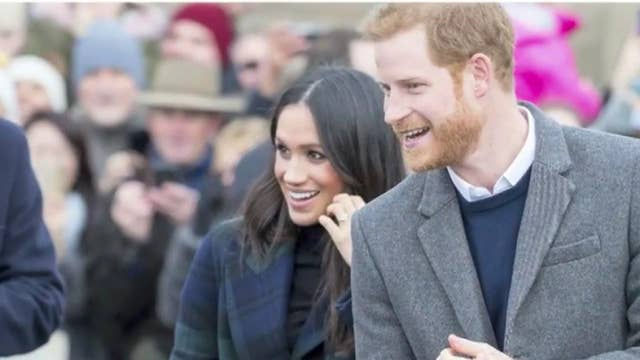 Buckingham Palace announces Prince Harry, Meghan Markle no longer 'working members' of the royal family