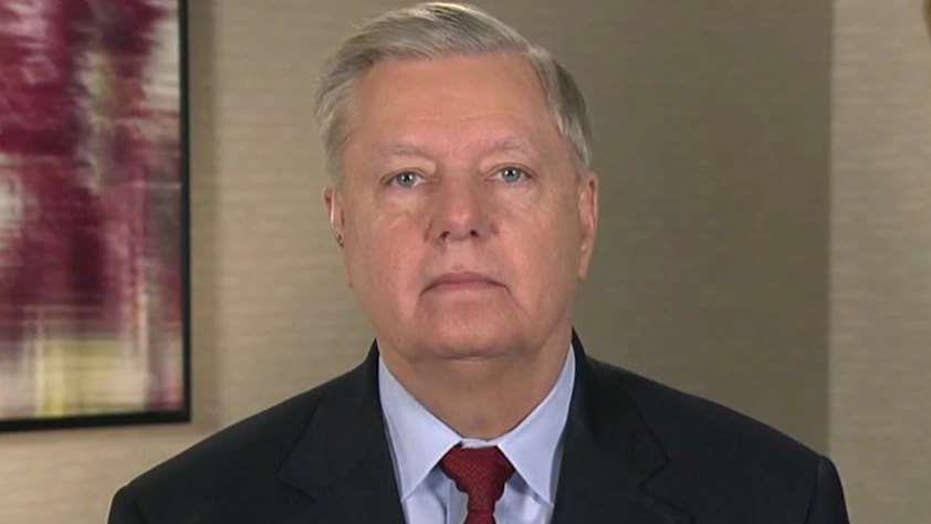 Sen. Lindsey Graham on calls for witnesses in impeachment trial